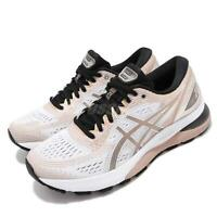 Asics Gel-Nimbus 21 Platinum White Frosted Almond Womens Run Shoes 1012A608-100