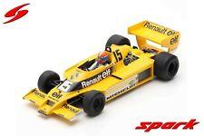Spark - Jean Pierre Jabouille - Renault - RS01 - 1978 - 4th US GP -1:18