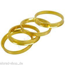 4 anelli di centraggio in alluminio anodizzati alluminio 72,6-65,1, TOMASON WHEELWORLD, ADVANTI