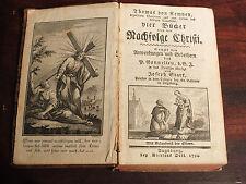 Nachfolge Christi von Thomas von Kampen Augsburg 1794