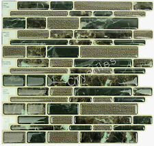"Crystiles® Peel&Stick Self-Adhesive Tiles, Item# 91010886, 10""X10"", Set of 6"