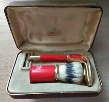 Vintage Omega Shaving Set In Case - Made In Italy