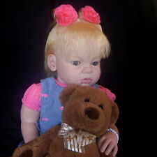 Arianna Reva Schick Custom Reborn Doll Toddler Little Darlins Nursery Rita Meese