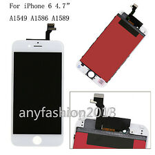 "LCD Assembly Touch Screen Digitizer Glass for iPhone 6 4.7"" White Repair Part"