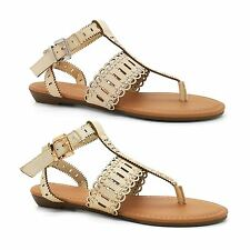 New Look Shoes Ladies Summer New Toe Post Beach Size 3-9 Womens Flat Sandals UK