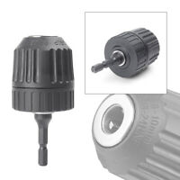 "0.8-10mm Keyless Drill Chuck Converter 3/8"" 24UNF +1/4"" Hex Shank SDS Adaptor @"