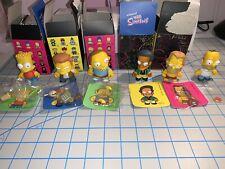Kidrobot Simpsons Series 1 Homer, Bart, Apu, Comic Book Guy, Hippie Homer