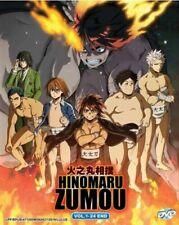 Hinomaru Zumou Anime DVD (Vol.1-24 end) with English Dubbed