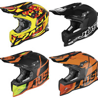 Just1 J12 Carbon Fiber MX ATV Motocross Helmet Fox Thor Troy Lee 6D Shoei