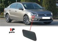 FOR VOLKSWAGEN PASSAT B7 2011-2014 FRONT BUMPER HEADLIGHT WASHER COVER CAP RIGHT