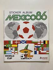 Mexico 86 Panini Sticker Album Empty Unused Very Good Condition No Stickers Rare