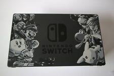 Nintendo Switch Dock im Super Smash Bros Ultimate Design original