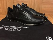 RARE🔥 Adidas Drive Athletic II Porsche Sport Design P'5000 Black Leather 12.5