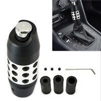 Black Alloy Aluminum Car Automatic Gear Stick Gearstick Shift Shifter Lever Knob