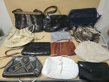 Vintage Wholesale Purses Lot of 12 Leather & Other Animal Skin Handbags, Clutchs