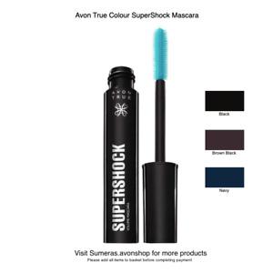 Avon True Colour SuperShock Mascara in Black/Brown~Black~Navy Pls pick Free P&P
