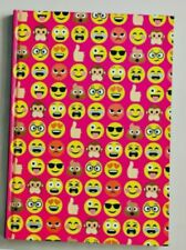 A5 NOTEBOOK EMOJI smiley Face kids stationery 160pg lined HOME SCHOOL adult