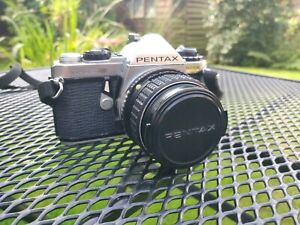 Pentax ME Super 35mm SLR Film Camera with rare 50mm F1.4 Lens (working)