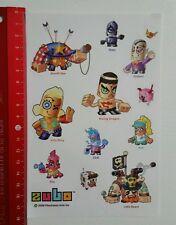 Aufkleber/Sticker: Zubo 2008 Electronic Artd Inc (1604164)