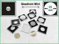 10 Leuchtturm 360946 Quadrum MINI Münzkapseln Münzenkapseln coin capsules 10 mm
