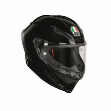 Gloss Fibreglass Plain ACU Approved Motorcycle Helmets