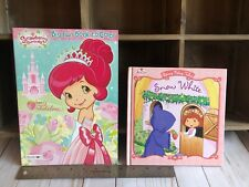 Strawberry Shortcake Coloring Book And Snow White Berry Fairy Tales