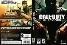 Call of Duty: Black Ops PC IBM WIN VISTA XP 7 COMPLETE 'M' FIRST PERSON SHOOTER