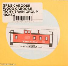 Tichy Train Group O #10245O Spokane, Portland & Seattle Wood Caboose  (Decal)