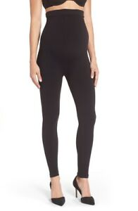 SPANX Mama Look at Me Now Seamless Maternity Leggings - 20134R - Black - Small