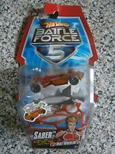 Hot Wheels Battle Force 5 SABER orange Vert Wheeler - New (ref.2)