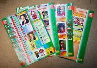 Merlin 96 1996 Reclaimed Football Stickers (Full Team Sets) - Various Teams