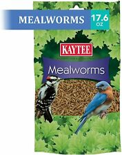 100505655 Mealworms, Product Is Intended for Wild Bird Usage,17.6 oz, 17.6 Ounce