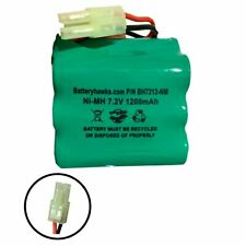 7.2v 1200mAh Ni-Mh Battery Pack Replacement for Shark Carpet Sweeper