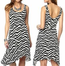 Viscose Summer/Beach Striped Plus Size Dresses for Women