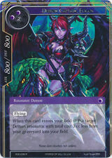 4X Demon Captain, Eligos -Rare- RDE-035-NM- FoW Return of the Dragon Emperor