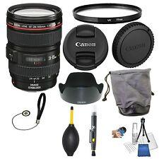 Canon EF 24-105mm f/4L IS USM Autofocus Lens for Canon EOS SLR Lens Bundle + UV