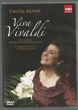 VIVA VIVALDI - Cecilia Bartoli - NTSC DVD - vgc - (106 mins)