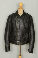 Vtg HARLEY DAVIDSON Leather Motorcycle Biker Jacket XLarge