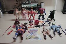 Masters of the Universe He-man and She-ra toys/figures and accessories