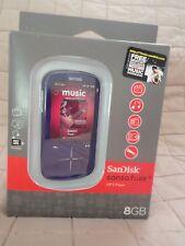 SanDisk Sansa Fuze+ Purple ( 8 GB ) Digital Media Player