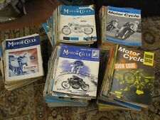 Motor cycle Magazines 1940's, 50's & 60's Job lot, 263 Issues.  Collection.