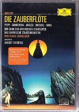 DVD MOZART DIE ZAUBERFLÖTE Francisco ARAIZA GRUBEROVA Lucia POPP MOLL SAWALLISCH