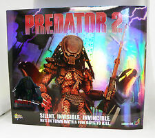 Hot Toys Predator 2 City Hunter Predator Battle Damaged Version MMS45 Empty Box