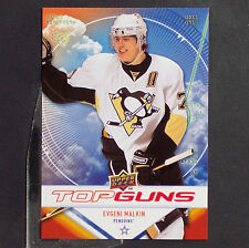 EVGENI MALKIN  2009/10  Upper Deck  Top Guns  #TG3  Pittsburgh Penguins