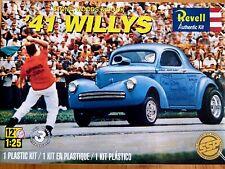 Revell Monogram 1:25 Stone, Woods & Cook '41 Willys Drag Car Model Kit
