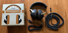 RARE VINTAGE MARANTZ SD-5 STEREO HEADPHONES W/ EXTENSION AND ADAPTER - Tested !