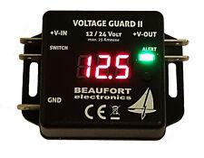 Universeller Batteriewächter 12V & 24V programmierbar mit Display & Frühalarm
