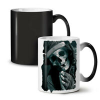 Pray Skeleton NEW Colour Changing Tea Coffee Mug 11 oz | Wellcoda