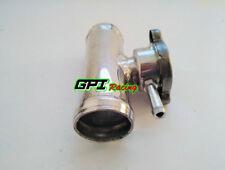 "32mm 1-1/4"" O.D Aluminum Inline Radiator Hose Pipe Filler Neck & Free Cap"