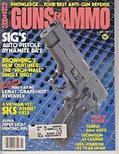 Magazine GUNS & AMMO May 1985 !!SIG-SAUER Model P-226 PISTOL!! *LEMAT REVOLVER*